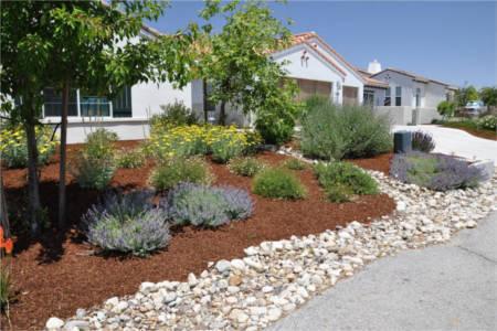 Decorative Stone Pebbles Garden Design